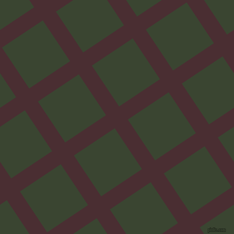 34/124 degree angle diagonal checkered chequered lines, 31 pixel line width, 97 pixel square size, Cab Sav and Mallard plaid checkered seamless tileable