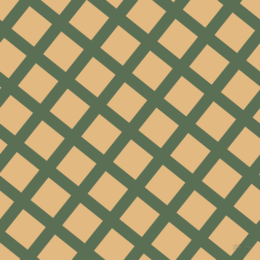 51/141 degree angle diagonal checkered chequered lines, 23 pixel lines width, 57 pixel square size, Cactus and Maize plaid checkered seamless tileable