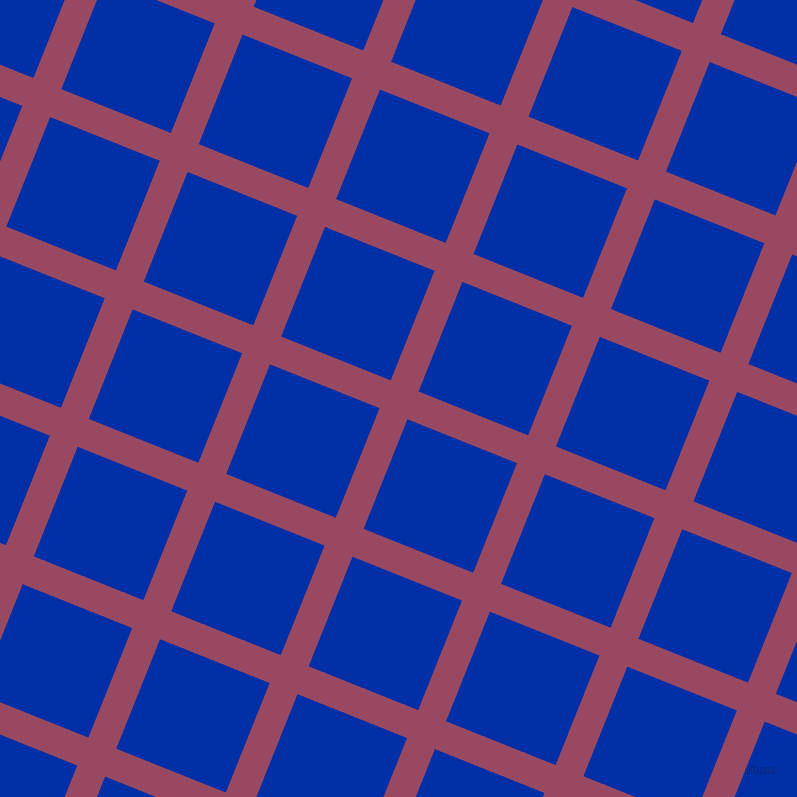 68/158 degree angle diagonal checkered chequered lines, 30 pixel lines width, 118 pixel square size, Cadillac and International Klein Blue plaid checkered seamless tileable