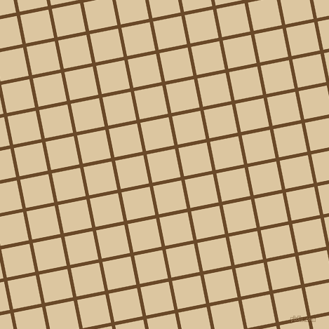 11/101 degree angle diagonal checkered chequered lines, 5 pixel lines width, 41 pixel square size, Cafe Royale and Raffia plaid checkered seamless tileable