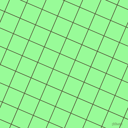 67/157 degree angle diagonal checkered chequered lines, 2 pixel lines width, 57 pixel square size, Camouflage and Pale Green plaid checkered seamless tileable