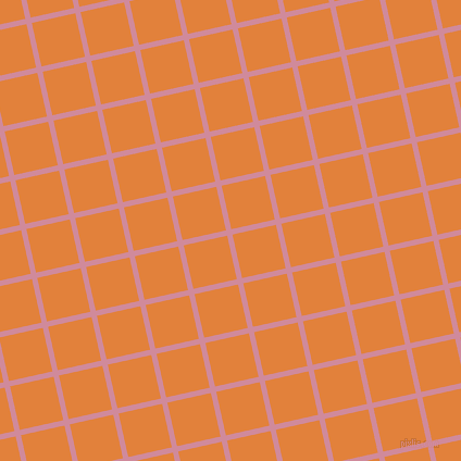 13/103 degree angle diagonal checkered chequered lines, 5 pixel line width, 41 pixel square size, Can Can and Tree Poppy plaid checkered seamless tileable
