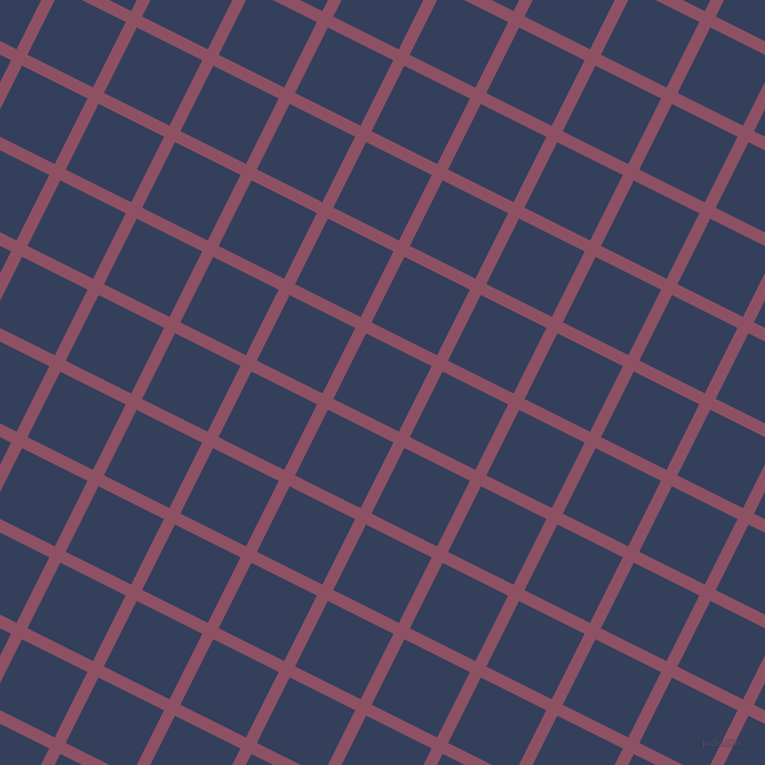 63/153 degree angle diagonal checkered chequered lines, 11 pixel lines width, 66 pixel square size, Cannon Pink and Gulf Blue plaid checkered seamless tileable