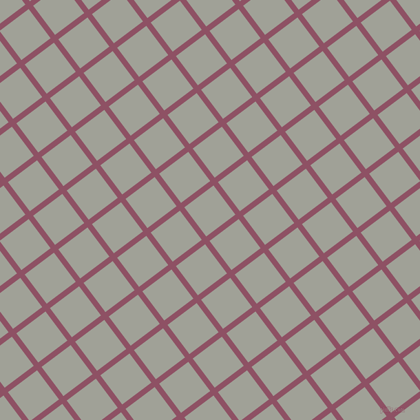 37/127 degree angle diagonal checkered chequered lines, 8 pixel line width, 53 pixel square size, Cannon Pink and Star Dust plaid checkered seamless tileable