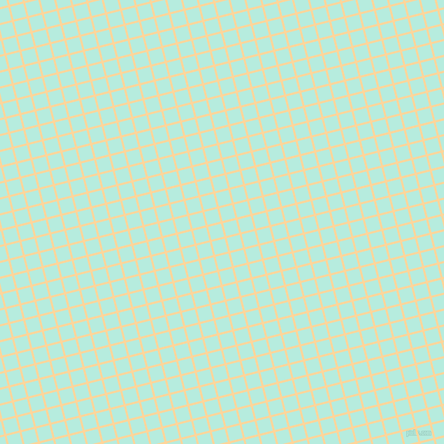 14/104 degree angle diagonal checkered chequered lines, 3 pixel lines width, 19 pixel square size, Caramel and Water Leaf plaid checkered seamless tileable