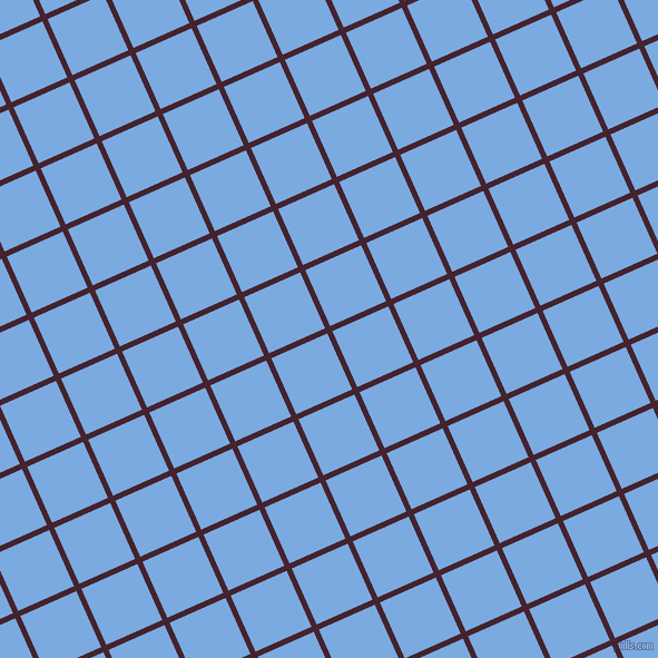 24/114 degree angle diagonal checkered chequered lines, 5 pixel line width, 55 pixel square size, Castro and Jordy Blue plaid checkered seamless tileable