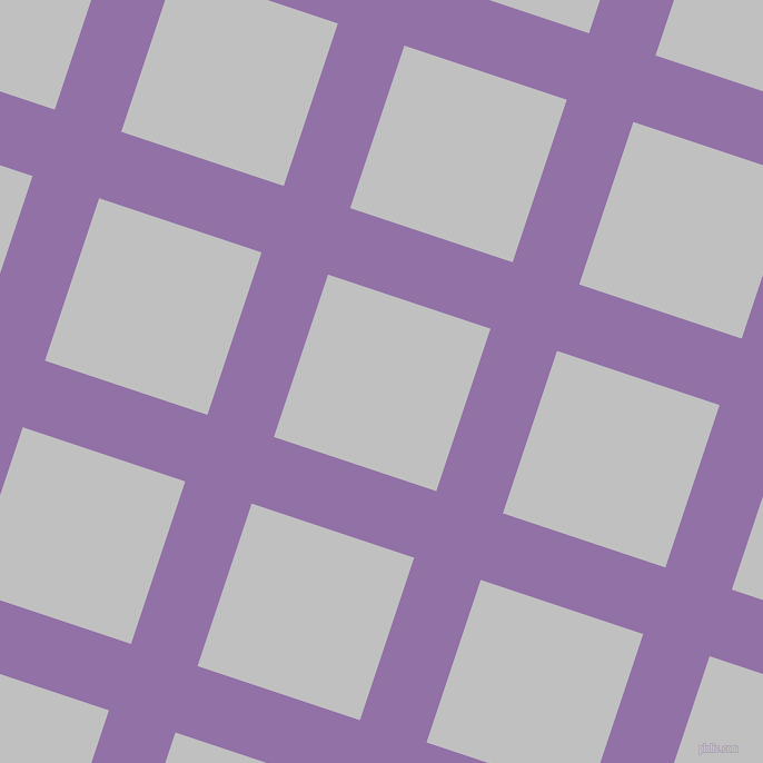 72/162 degree angle diagonal checkered chequered lines, 63 pixel lines width, 154 pixel square size, Ce Soir and Silver plaid checkered seamless tileable