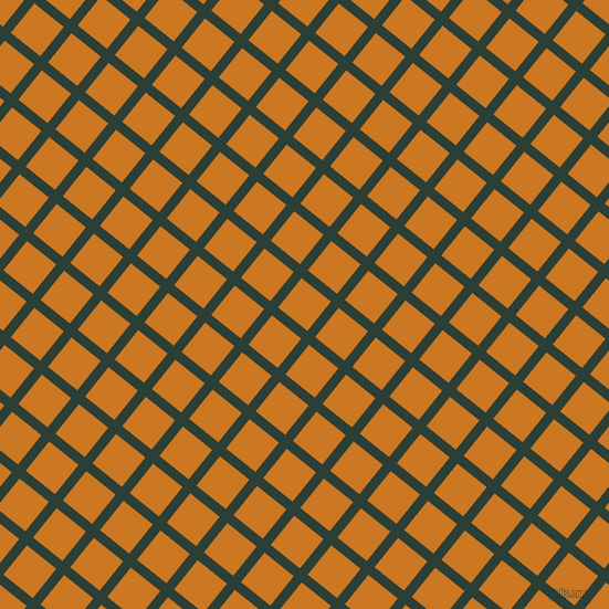 51/141 degree angle diagonal checkered chequered lines, 9 pixel line width, 34 pixel square size, Celtic and Ochre plaid checkered seamless tileable