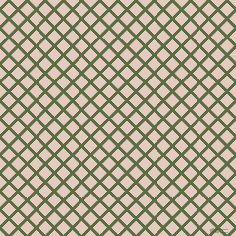 45/135 degree angle diagonal checkered chequered lines, 6 pixel lines width, 20 pixel square size, Chalet Green and Dust Storm plaid checkered seamless tileable