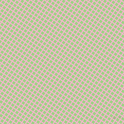 56/146 degree angle diagonal checkered chequered lines, 4 pixel lines width, 9 pixel square size, Chantilly and Gossip plaid checkered seamless tileable