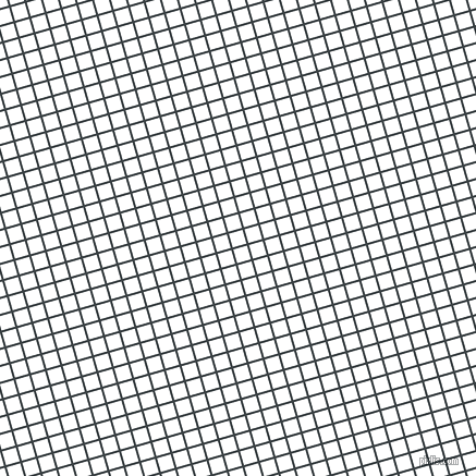 16/106 degree angle diagonal checkered chequered lines, 2 pixel lines width, 13 pixel square size, Charade and White plaid checkered seamless tileable