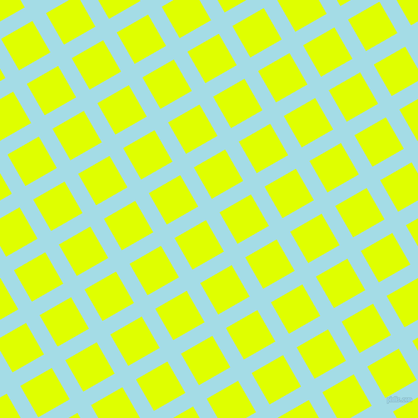 30/120 degree angle diagonal checkered chequered lines, 22 pixel lines width, 51 pixel square size, Charlotte and Chartreuse Yellow plaid checkered seamless tileable