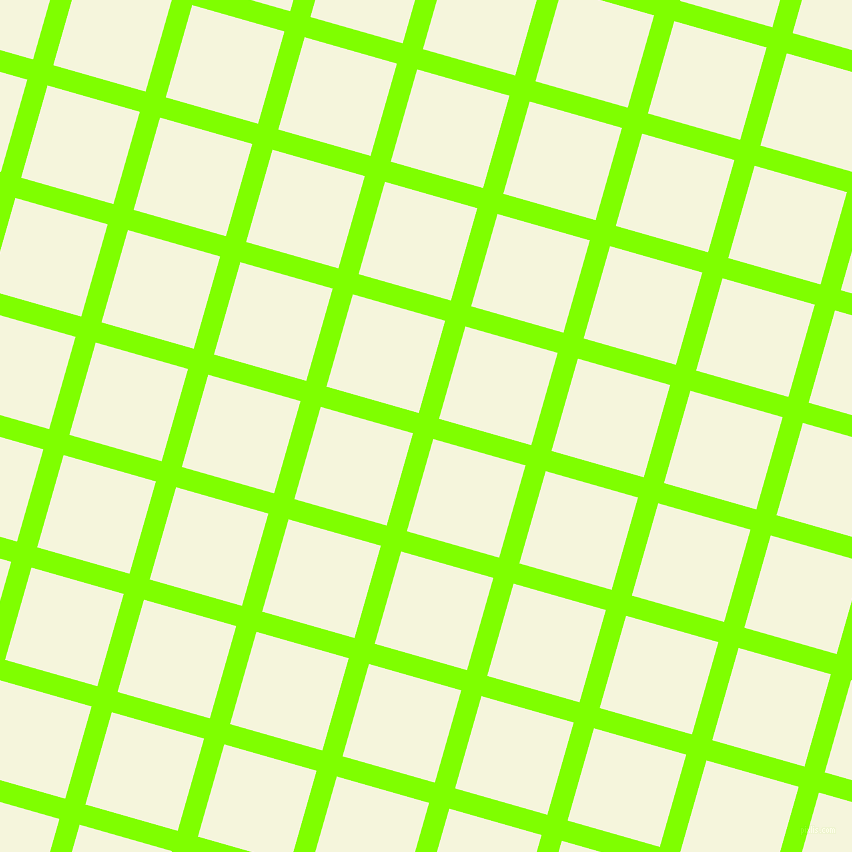 74/164 degree angle diagonal checkered chequered lines, 21 pixel line width, 96 pixel square size, Chartreuse and Beige plaid checkered seamless tileable