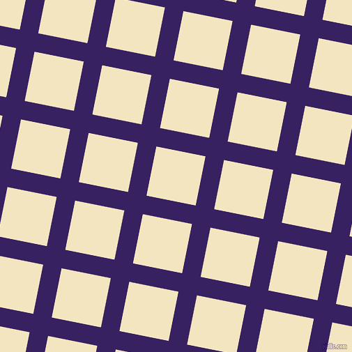 79/169 degree angle diagonal checkered chequered lines, 27 pixel line width, 72 pixel square size, Christalle and Milk Punch plaid checkered seamless tileable