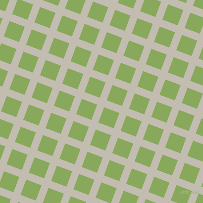 69/159 degree angle diagonal checkered chequered lines, 15 pixel line width, 33 pixel square size, Cloud and Chelsea Cucumber plaid checkered seamless tileable