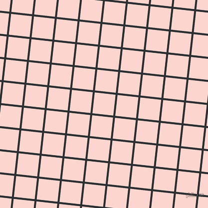 84/174 degree angle diagonal checkered chequered lines, 4 pixel lines width, 42 pixel square size, Cod Grey and Cosmos plaid checkered seamless tileable