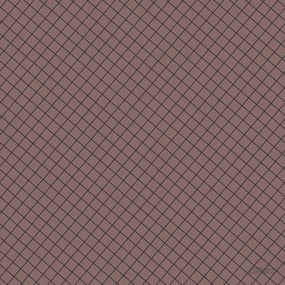 49/139 degree angle diagonal checkered chequered lines, 1 pixel lines width, 14 pixel square size, Cod Grey and Ferra plaid checkered seamless tileable