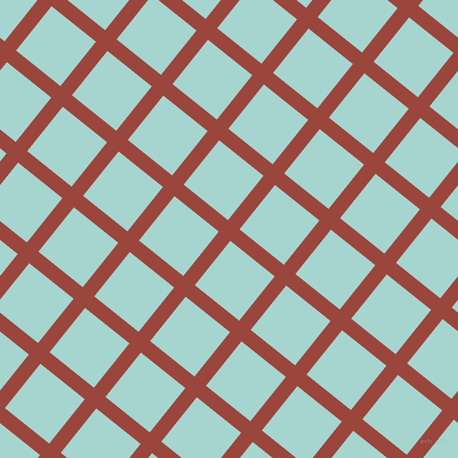 51/141 degree angle diagonal checkered chequered lines, 21 pixel lines width, 81 pixel square size, Cognac and Sinbad plaid checkered seamless tileable