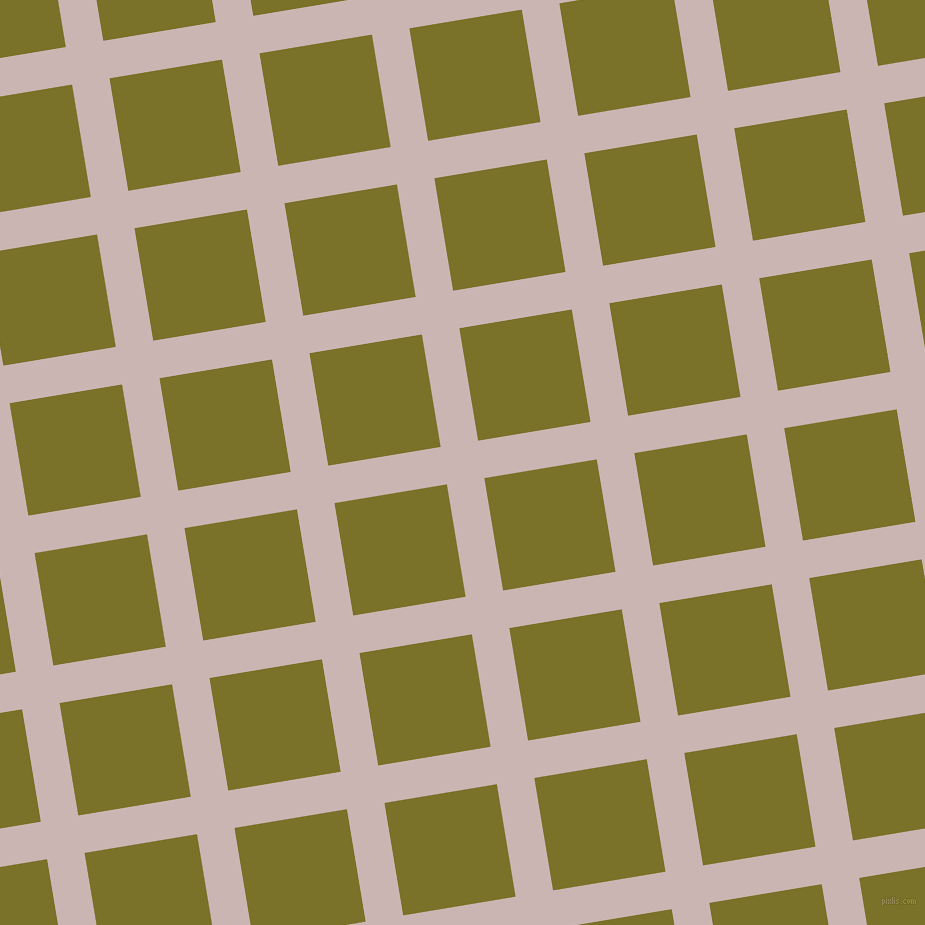 9/99 degree angle diagonal checkered chequered lines, 38 pixel line width, 114 pixel square size, Cold Turkey and Pesto plaid checkered seamless tileable