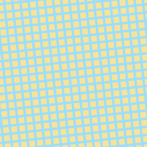 6/96 degree angle diagonal checkered chequered lines, 8 pixel lines width, 19 pixel square size, Columbia Blue and Vis Vis plaid checkered seamless tileable