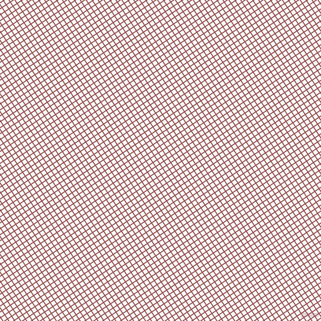 34/124 degree angle diagonal checkered chequered lines, 2 pixel line width, 8 pixel square size, Copper Rust and Ghost White plaid checkered seamless tileable