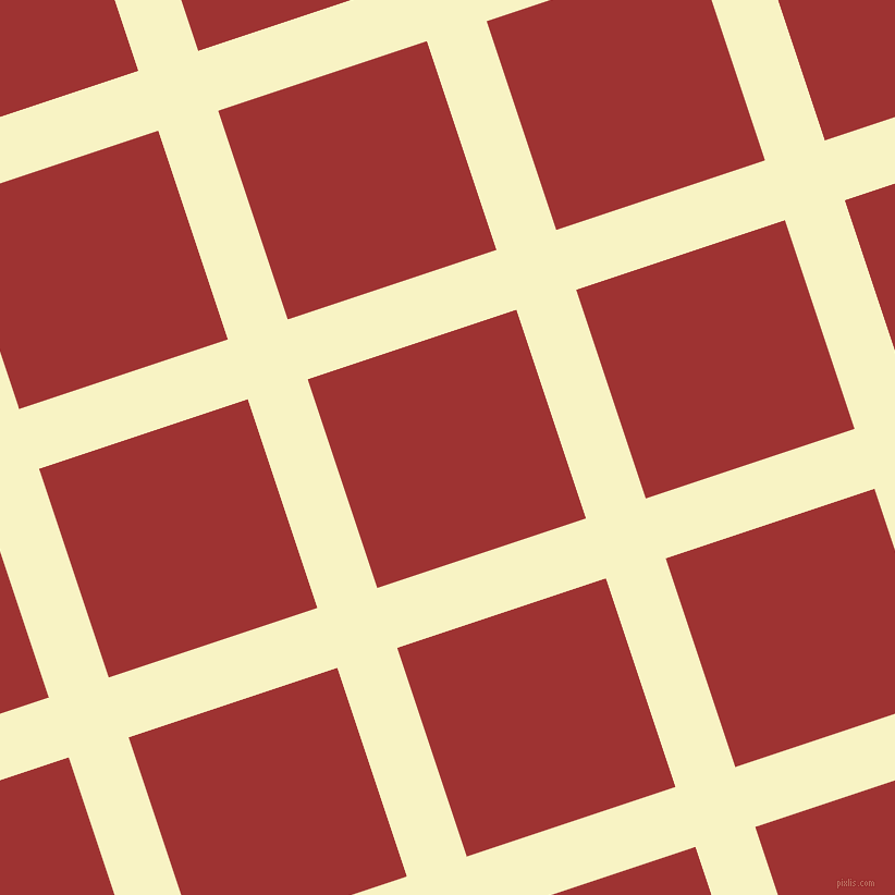 18/108 degree angle diagonal checkered chequered lines, 58 pixel lines width, 202 pixel square size, Corn Field and Milano Red plaid checkered seamless tileable