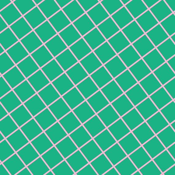 37/127 degree angle diagonal checkered chequered lines, 5 pixel lines width, 52 pixel square size, Cotton Candy and Mountain Meadow plaid checkered seamless tileable