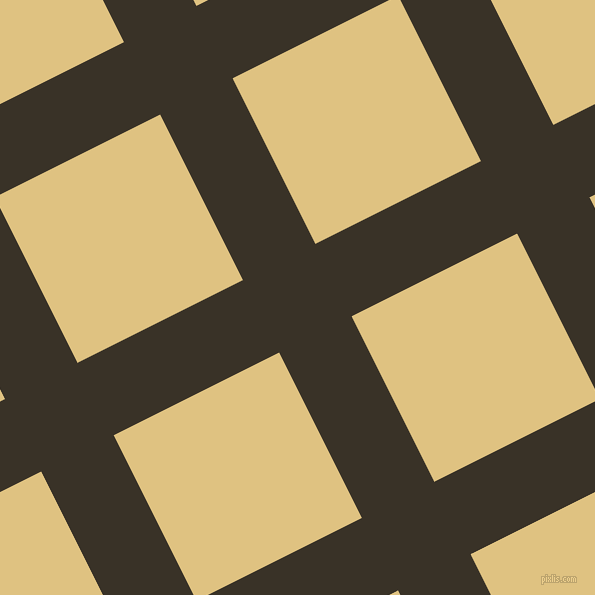27/117 degree angle diagonal checkered chequered lines, 81 pixel line width, 185 pixel square size, Creole and Chalky plaid checkered seamless tileable