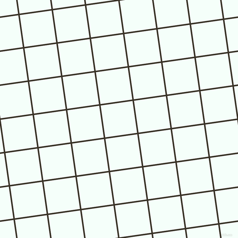 8/98 degree angle diagonal checkered chequered lines, 5 pixel lines width, 107 pixel square size, Creole and Mint Cream plaid checkered seamless tileable