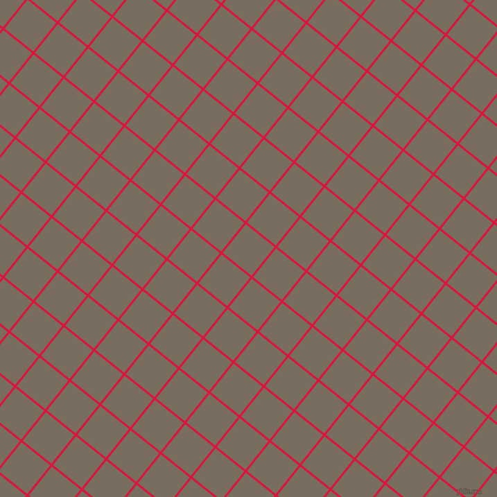 51/141 degree angle diagonal checkered chequered lines, 3 pixel lines width, 53 pixel square size, Crimson and Sandstone plaid checkered seamless tileable