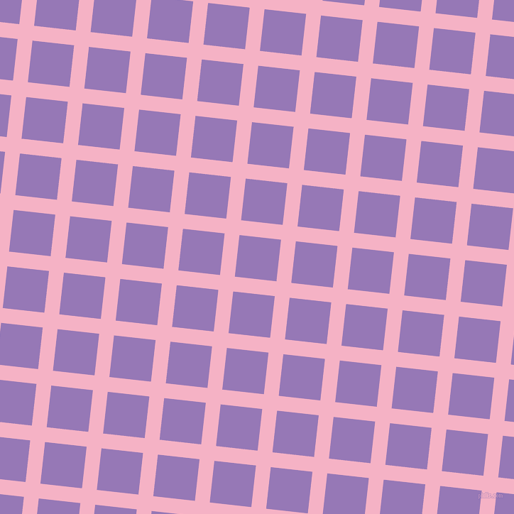 84/174 degree angle diagonal checkered chequered lines, 21 pixel lines width, 59 pixel square size, Cupid and Purple Mountain