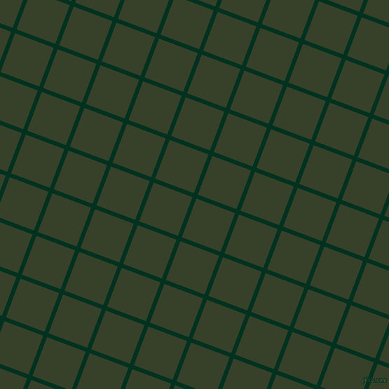 69/159 degree angle diagonal checkered chequered lines, 6 pixel line width, 59 pixel square size, Dark Green and Seaweed plaid checkered seamless tileable