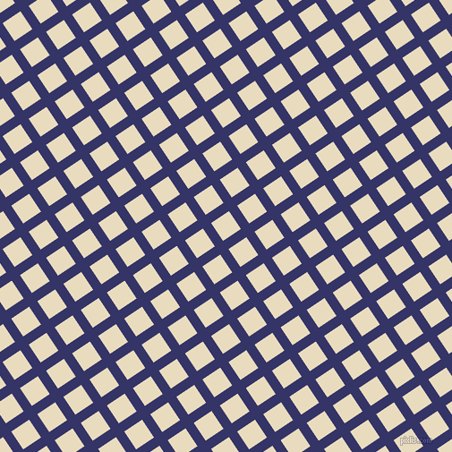 34/124 degree angle diagonal checkered chequered lines, 11 pixel line width, 24 pixel square size, Deep Koamaru and Double Pearl Lusta plaid checkered seamless tileable