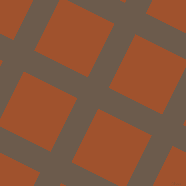 63/153 degree angle diagonal checkered chequered lines, 82 pixel lines width, 210 pixel square size, Domino and Sienna plaid checkered seamless tileable
