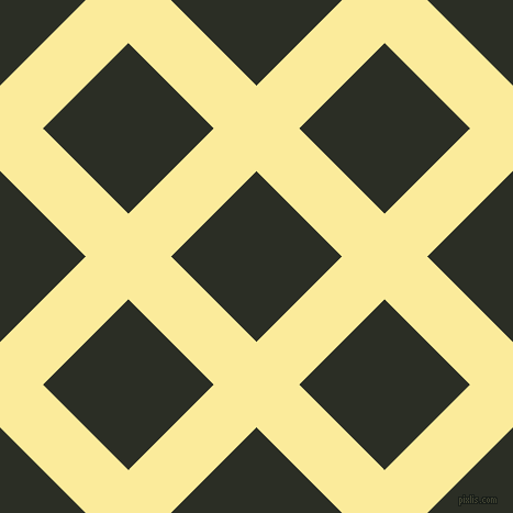 45/135 degree angle diagonal checkered chequered lines, 55 pixel line width, 110 pixel square size, Drover and Rangoon Green plaid checkered seamless tileable