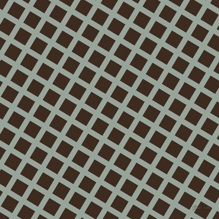 59/149 degree angle diagonal checkered chequered lines, 11 pixel line width, 27 pixel square size, Edward and Bistre plaid checkered seamless tileable