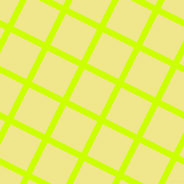 63/153 degree angle diagonal checkered chequered lines, 20 pixel line width, 112 pixel square size, Electric Lime and Khaki plaid checkered seamless tileable