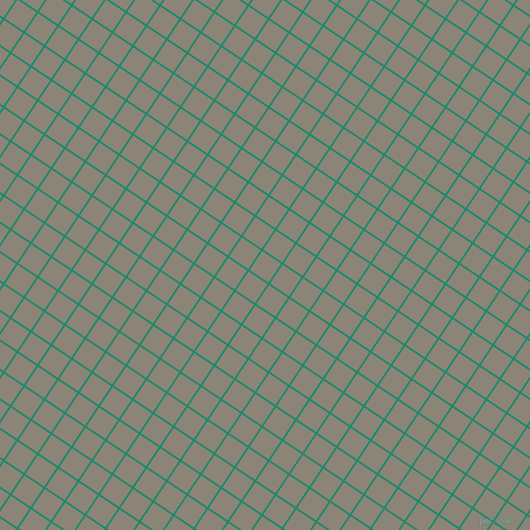 56/146 degree angle diagonal checkered chequered lines, 2 pixel lines width, 25 pixel square size, Elf Green and Schooner plaid checkered seamless tileable