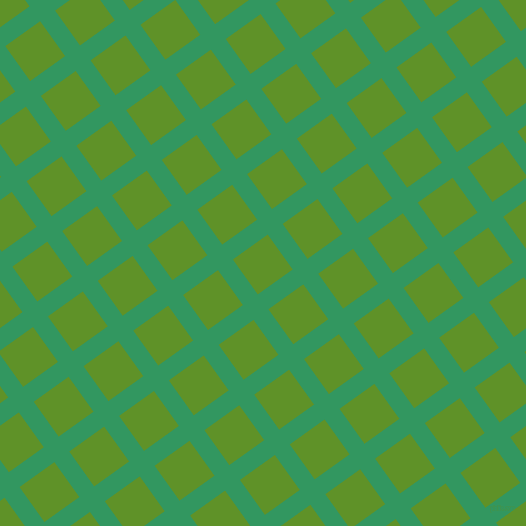 36/126 degree angle diagonal checkered chequered lines, 26 pixel line width, 61 pixel square size, Eucalyptus and Vida Loca plaid checkered seamless tileable