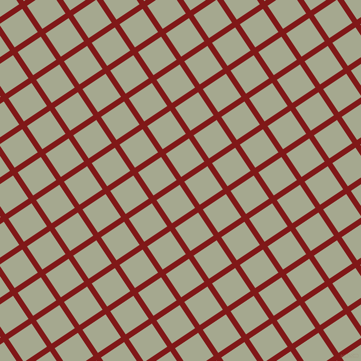 34/124 degree angle diagonal checkered chequered lines, 11 pixel lines width, 55 pixel square size, Falu Red and Bud plaid checkered seamless tileable