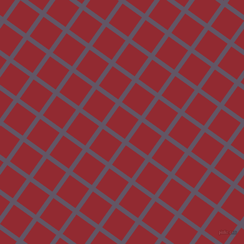 54/144 degree angle diagonal checkered chequered lines, 9 pixel line width, 47 pixel square size, Fedora and Bright Red plaid checkered seamless tileable