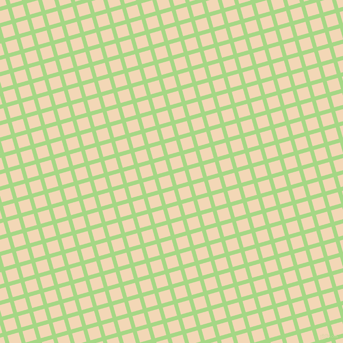 16/106 degree angle diagonal checkered chequered lines, 8 pixel line width, 23 pixel square size, Feijoa and Pink Lady plaid checkered seamless tileable