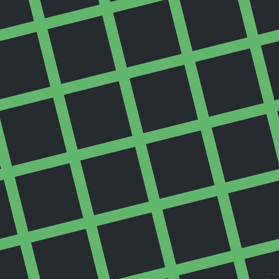 14/104 degree angle diagonal checkered chequered lines, 39 pixel line width, 197 pixel square size, Fern and Blue Charcoal plaid checkered seamless tileable