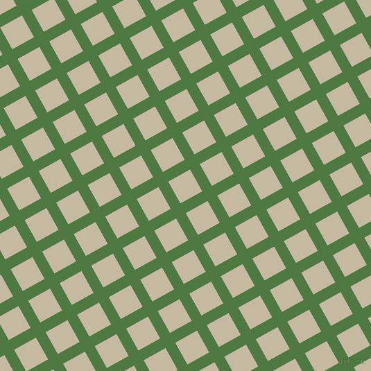 29/119 degree angle diagonal checkered chequered lines, 16 pixel lines width, 36 pixel square size, Fern Green and Sisal plaid checkered seamless tileable