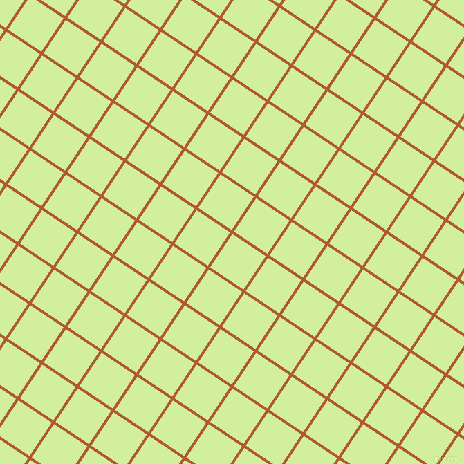 56/146 degree angle diagonal checkered chequered lines, 4 pixel lines width, 58 pixel square size, Fiery Orange and Reef plaid checkered seamless tileable
