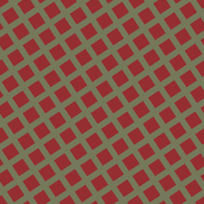 34/124 degree angle diagonal checkered chequered lines, 20 pixel line width, 42 pixel square size, Finch and Guardsman Red plaid checkered seamless tileable