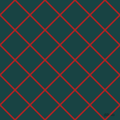 45/135 degree angle diagonal checkered chequered lines, 5 pixel lines width, 68 pixel square size, Fire Brick and Tiber plaid checkered seamless tileable