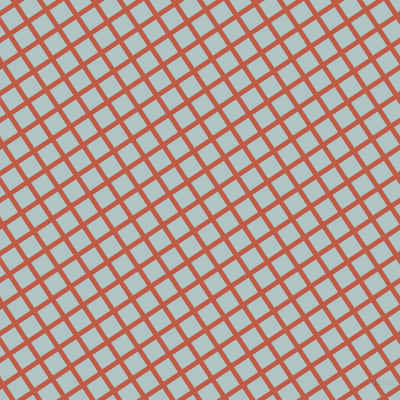 34/124 degree angle diagonal checkered chequered lines, 7 pixel line width, 25 pixel square size, Flame Pea and Jungle Mist plaid checkered seamless tileable