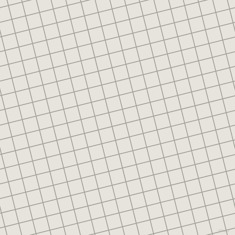 14/104 degree angle diagonal checkered chequered lines, 3 pixel line width, 44 pixel square size, Foggy Grey and Wild Sand plaid checkered seamless tileable