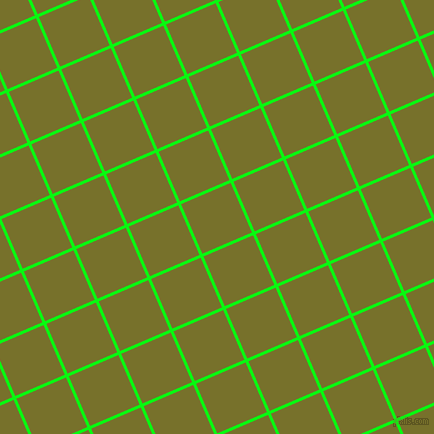 23/113 degree angle diagonal checkered chequered lines, 3 pixel lines width, 54 pixel square size, Free Speech Green and Crete plaid checkered seamless tileable
